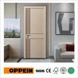 Puerta COMPLETA del MDF del interior del grano de madera de la serie de la manera de Oppein (YDG041D)