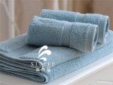 Toalla de cinco estrellas al por mayor del hotel, toalla del telar jacquar, toalla de baño
