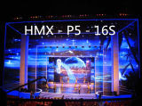Hohe Präzision P5 Druckguss-farbenreichen Miete LED-Innenbildschirm