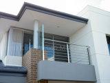 Het Moderne Traliewerk van uitstekende kwaliteit van de Draad van het Balkon van het Roestvrij staal van het Ontwerp