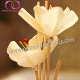 eleganter Hauptluft-Erfrischungsmittel-REEDdiffuser (zerstäuber) des aroma-80ml in der Glasflasche mit Rattan-Stock Sola Blumen-REEDdiffuser- (zerstäuber)geschenk-Set