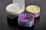 плита PS устранимой пластмассы 7 '' (18cm) P071815 цветастая круглая