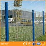 Beschichtetes gebogenes Zaun-Panel Anping-Semai Kurbelgehäuse-Belüftung