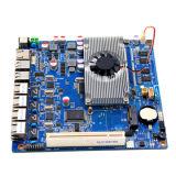 carte mère industrielle gauche de tablier d'Intel de RJ45 de 4*1000m avec 2 SATA