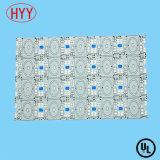 PWB del aluminio 1oz LED del blanco 1.5m m del bajo costo con OSP (HYY-068)