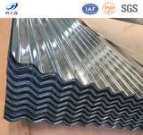 SGSはGIによって電流を通された波形を付けられた鋼板を証明した