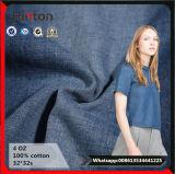 Sommer-Art-Jeans-Kleid-Baumwolle 100% 4 Unze-Denim-Gewebe