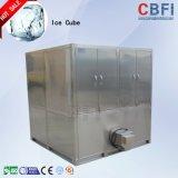 Quadratisches Eis 3 Tonnen Würfel-Eis-Maschinen-