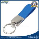 Keychain de couro feito sob encomenda para o presente da promoção