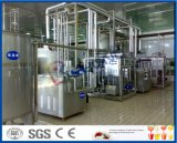 a linha de produção linha do yogurt de processamento ajustada do iogurte agitou o equipamento de produção do iogurte