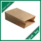 Verdrehter Packpapier-Beutel Griffbrown-