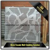 Commerce de gros et de faible prix de clôture en aluminium peint en poudre utilisé pour l'extérieur du panneau