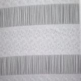 주문 뻗기 스판덱스 백색 자카드 직물 여자 의복 직물