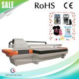 Imprimante large de lit plat de format de T-shirt de sac en cuir