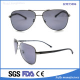 Heißer Verkaufs-Marken-Entwerfer polarisierte Objektiv-Metallsonnenbrillen