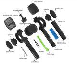 Smartek Microphone sans fil sans fil Karaoke KTV avec microphone avec haut-parleur Mini Record de soutien pour téléphone intelligent - Magic Sing Along Karaoke Microphone - E103