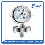 Todos los Ss Manómetro-Diafragma Manómetro-Medidor De Alta Calidad Instrumento