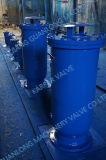 O uso da água de esgoto combinou o tipo válvula da liberação do ar da sução do disjuntor do vácuo