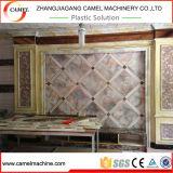 Cadena de producción de mármol del perfil de la hoja del PVC de WPC