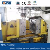 Machine automatique de soufflage de corps creux d'extrusion de Tonva 5L pour le bac en plastique avec trois couleurs