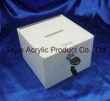 Personnaliser la boîte d'affichage acrylique clair