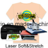 Papel oscuro al por mayor de traspaso térmico A4 para la pista /Bag de la camiseta/de ratón