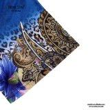 Mujeres azules de Srta. You Ailinna 102747 más la alineada de lino de la talla con el acoplamiento