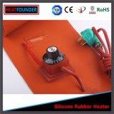 Riscaldatore elettrico del timpano della fascia di resistenza del collegare della lega di nichel del silicone