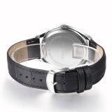 Timeseaの水晶ステンレス鋼は人の革バンドの贅沢な人Wristwatch72268を見る