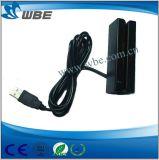 Shopping Center 90mm Mini Size USB Leitor de cartão magnético