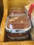 Forros coloridos estáveis do cozimento da folha de alumínio do bolo do queque da sobremesa 5oz