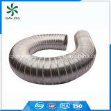 Conduit souple et flexible en acier inoxydable semi-rigide 304 pour ventilation par sécheuse