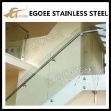 Edelstahl-Glasgeländer-Handlauf-Halter für Balkon