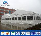 Tente en aluminium ignifuge d'entrepôt d'abri d'écran de PVC de bâti pour la mémoire