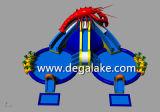 Grande sosta gonfiabile dell'acqua del dinosauro di vendita calda personalizzata