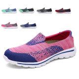 2017 neuer beiläufiger Sport-laufende Schuhe mit Art Nr.: Gehen Walk-001 Zapato