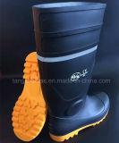 Ботинок PVC ботинка дождя работая