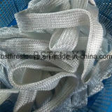Fibres de verre tressés Thermosleeve de mur lourd de protection de fil de câble