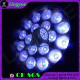 18W RGBWA 하나에서 UV 18 피스 LED 호리호리한 단계 빛 6