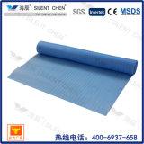 Sous-couche en mousse bleue EPE haute densité 2 mm pour revêtement de sol.