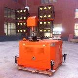 tour d'éclairage mobile du générateur 4kw diesel avec la lampe de 4*480W DEL
