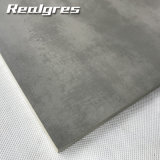 Weinlese-dunkler grauer konkreter Kleber-rustikaler nicht Beleg glasig-glänzende Porzellan-Bodenbelag-Fliesen