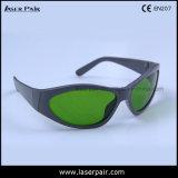 Transmittance de 40% dos óculos de proteção protetores do laser 1470nm (DTY 800-1700nm) com frame 55
