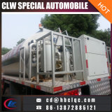 Camion de réservoir de distribution de bitume de camion de réservoir de pulvérisateur de bitume de Xinhuanghe 9m3