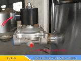 бак нержавеющей стали 1000L смешивая с нижним типом агитатором шабера