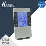 Temperature Trend Humidity Weather Station Clock com alarme Snooze