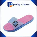 Barato preço fita PVC EVA Ladies Beach pantufas