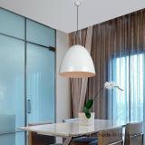 La moda moderna lámpara colgante lámpara de araña para restaurante en aluminio