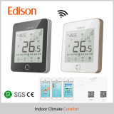 Thermostats éloignés de pièce de contact d'affichage à cristaux liquides de WiFi pour l'IOS/téléphone cellulaire androïde de système