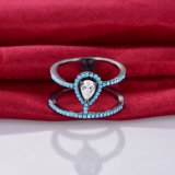 Anello d'argento 925 popolari con lo Zircon cubico